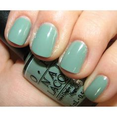 Thanks a Windmillion - OPI Nail Polish  Here's another good minty green!