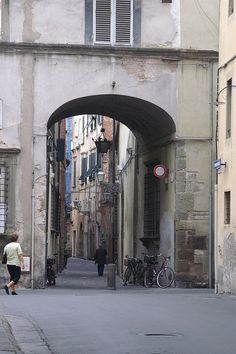 Lucca, Italy - walked here so many times!