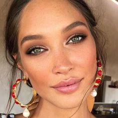 The Best Natural Makeup Looks of All Time Das beste natürliche Make-up aller Zeiten - TAYLOR M Natural Summer Makeup, Best Natural Makeup, Simple Makeup, Fresh Makeup Look, Natural Beauty, Natural Everyday Makeup, Minimal Makeup, Makeup Inspo, Makeup Inspiration