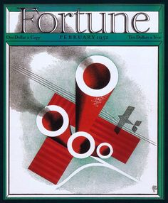Fortune Magazine Cover Copyright 1932 Factory Airplane - Mad Men Art: The Vintage Advertisement Art Collection Vintage Ads, Vintage Posters, Vintage Illustration Art, Illustrations, Fortune Favors The Bold, Fortune Favours, Fortune Magazine, Art Deco Posters, Beautiful Cover