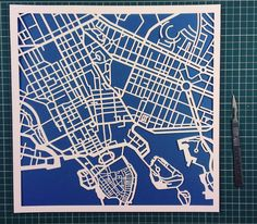 One of my earliest commissioned pieces: Stockholm. Sodermalm is still one of the bits I enjoyed most cutting out. If you ever go here take an archipelago tour. It's one of the best things I ever paid for. . . . . . . . #papercut #papercutting #papercutartist #kirigami #paper #love #instagood #style #map #cartography #minimalist #simplicity #urban #streetart #stencil #urbanart #artsy #stockholm #scandinavia #minimalist #sweden #sverige