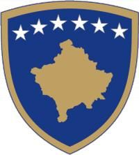 Brasão de armas do Kosovo. Coat of arms of Kosovo. Norway Travel, Italy Travel, Italy Trip, Macedonia, Albania, Montenegro, Switzerland Tourism, Webdesign Inspiration, Web Design