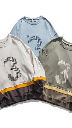 Crew Neck Sweatshirt, Digital Prints, Sweatshirts, Jackets, Ideas, Fashion, Fingerprints, Down Jackets, Moda