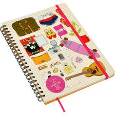 Caderno Cicero Papelaria Wire-o Essenciais Pautado A4 Ela