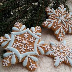 Сладкий снег #снежинки #медовыйпряник #волшебныйпряник #новогодниепряники