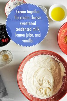 How to Make No Bake Cheesecake Filling