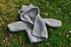 Ravelry: Baby Bear Hooded Jacket pattern by Lion Brand Yarn