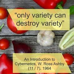 In An Introduction to Cybernetics W. Ross Ashby wrote only variety can destroy variety  How does that help us test better?  We use variation to find a combination of input such that the system does not exhibit enough variety in its processing to provide an output that falls within the tolerance parameters of our oracle.  But we have issues:  With more variation and no observation of issues we might increase confidence.  We might introduce so much variation that our oracle which we compare… Increase Confidence, Software Testing, Exhibit, Canning, Food, Essen, Meals, Home Canning, Yemek