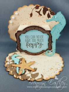 addINKtive designs: A Clam Shell Pop-Up Card - Colours of January for SUO 87