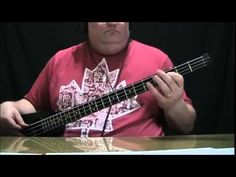 ▶ The Romantics Taling In Your Sleep Bass Cover with Bass Notes & Tablature - YouTube