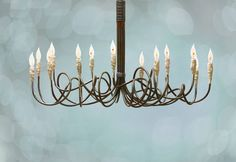 The Candelabra Chandelier - can't you just see this in your home or business?