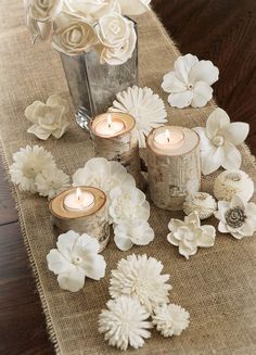 Sola Flowers are beautiful decorations made of all natural tapioca wood