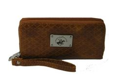 64c6f0e51a8 Beverly Hills Polo Club single zip ladies wallet. Colors Black Brown Tan.  MSRP  24.00. Price   6.75