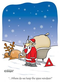 5765-santa-stuck-funny-cartoons-merry-christmas-card | SANTA ...