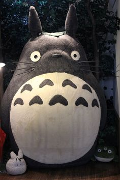 Life-sized Totoro at Teddy Bear museum in Japan.
