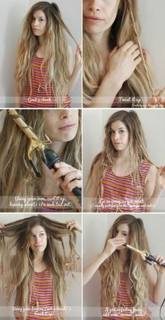 How to do beach waves by p.paula