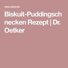 Biskuit-Puddingschnecken Rezept | Dr. Oetker