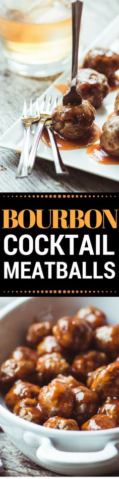 HOW TO MAKE THE BEST BOURBON MEATBALLS EVER! These luscious little Bourbon Meatballs are going to be the hit of your next party ~ people will flock to the meatballs, but they'll hang around for the sauce!!
