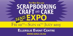 SENZ has been New Zealand's premier papercrafting expo for 14 years and now has added other crafts such as quilting, needlecraft, beading, cake decorating and knitting.  It's three days of shopping, classes, create'n crop sessions, demos, competitions, displays and socialising. Read more about this event on Creative Style Hub! http://www.creativestylehub.com.au/event/nz-scrapbooking-craft-cake-expo-senz2015/