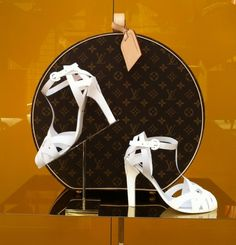 Louis Vuitton Paper Shoes for Window Display!