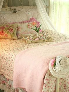 Old-fashioned bed