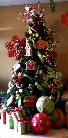 Otra versión de mi árbol de Navidad