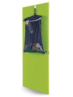 Sneaky dorm room space-savers: Over-the-door hamper Dorm Room Storage, Dorm Room Organization, Space Saving Storage, Organizing, University Dorms, Dorm Life, College Life, Dormitory, College Dorm Rooms