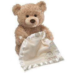 Gund Peek-A-Boo Bear - Smart Value ($40) ❤ liked on Polyvore