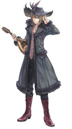View an image titled 'Tantris Art' in our Atelier Rorona: The Alchemist of Arland art gallery featuring official character designs, concept art, and promo pictures. Game Character Design, Character Design References, Fantasy Character Design, Character Design Inspiration, Character Concept, Character Art, Character Ideas, Character Poses, Character Reference