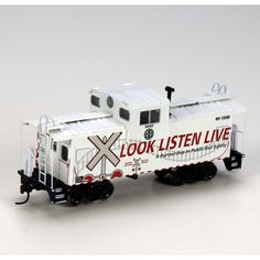 HO RTR Wide Vision Caboose, BNSF/OLS #12580 (ATH75236): Athearn Trains