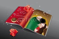 #Valentine's book. crazycolors © fotolia