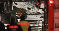 Christmas revelry crushed as truck plows into Berlin market, killing 12