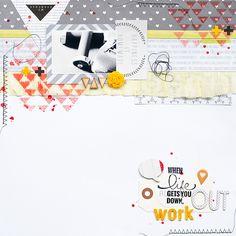 Work Out - Kesi'Art #scrapbook