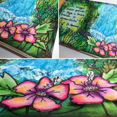 Il mio tutorial sul blog Art & Art di Pezze e Colori. http://artandartdt.blogspot.it/2016/07/daniela-ricordi-di-viaggio.html  #tutorial #salottocreativo #artandart #13arts #pezzeecolorishop #mixedmedia #artjournaling #vacanze