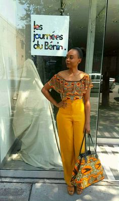 Learn About These Amazing modern african fashion 6787 African Fashion Ankara, African Print Fashion, Africa Fashion, Fashion Prints, African Prints, Fashion Design, Fashion Ideas, African Attire, African Wear
