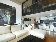 Stunning, luxury loft apartment, with balcony and views. Islington, London. http://www.homeaway.com.au/holiday-rental/p849039 #apartments #london