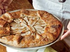 This Free-Form Apple Tart Recipe is so elegant and easy to make | http://aol.it/1aPHnk7