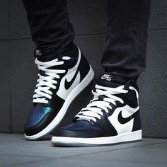 Air Jordan 1 Retro High All Star Gotta Shine   Chameleon Sneakers Shoes e4cf8618b