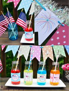 PARTY BLOG by BirdsParty|Printables|Parties|DIYCrafts|Recipes|Ideas: 4th of July FREE and Funky Printables! - Cute for an Ice Cream Social