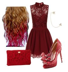"""""""Red riding hood"""" by soccergal05 ❤ liked on Polyvore"""