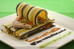 Receta de lasaña de verduras / webos fritos / food / recipes