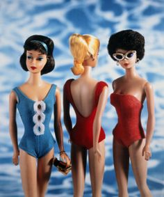 And three more bathing beauties! Barbie 43, 1998 by David Levinthal