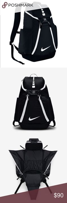 48ee121630 Nike Hoops Elite Max Air Team 2.0 Backpack Bag Gear up for practice and  stay on