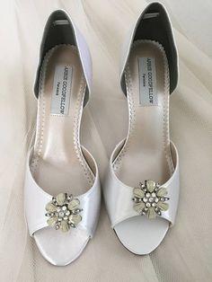 Wedding Shoes  Clips  Crystal Wedding Shoes  Bridal Shoe