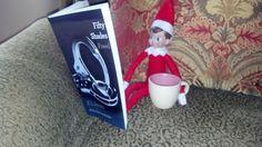 Elf on the Shelf Ideas- cute idea, different book