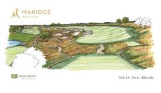 Steve Smyers Golf Course Architects   Maridoe Golf Club   Hole  15     Steve Smyers Golf Course Architects   Maridoe Golf Club   Hole  13 Sketch    stevesmyers