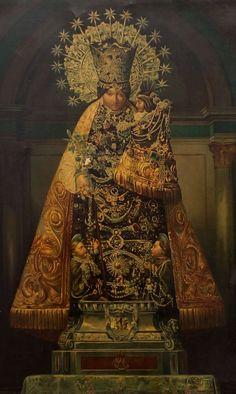 Virgen de los Desamparados Una pintura del siglo 19 de Nuestra Señora de los Desamparados, patrona de Valencia.