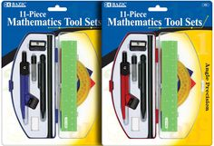 BAZIC Student Math Tool Sets Case Pack 72