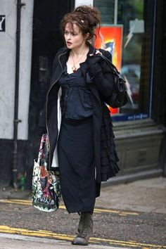 Helena Bonham Carter in London   Tom & Lorenzo Fabulous & Opinionated