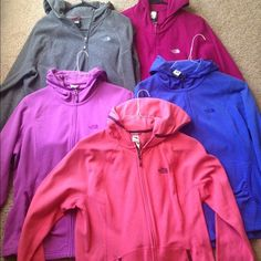 North face Jackets Sold seperately or bundled excellent condtion blue one is sold North Face Jackets & Coats